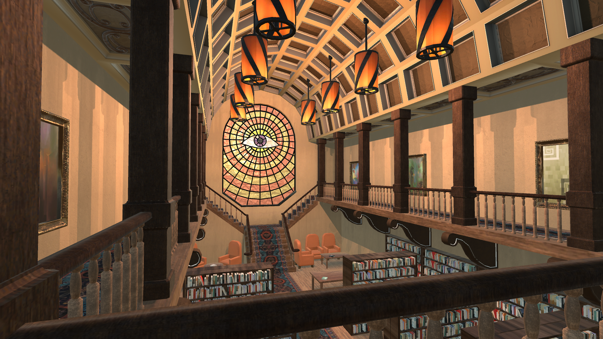 Library Game Screenshot